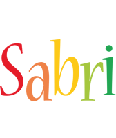 Sabri birthday logo