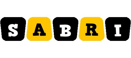 Sabri boots logo