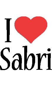 Sabri i-love logo