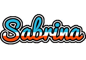 Sabrina america logo