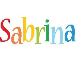Sabrina birthday logo