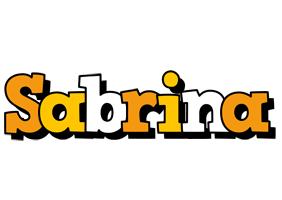 Sabrina cartoon logo