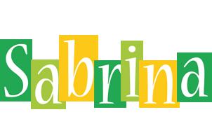 Sabrina lemonade logo
