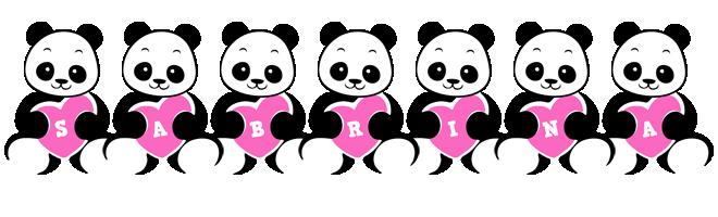 Sabrina love-panda logo