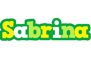Sabrina soccer logo