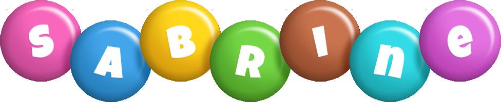 Sabrine candy logo