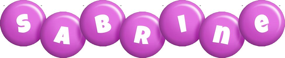 Sabrine candy-purple logo