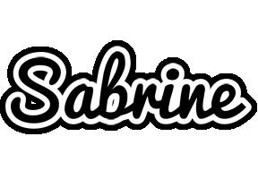 Sabrine chess logo