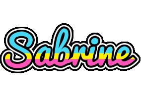 Sabrine circus logo