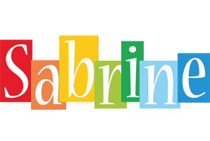 Sabrine colors logo