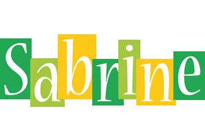 Sabrine lemonade logo