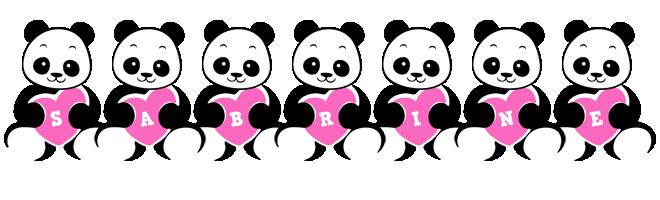 Sabrine love-panda logo