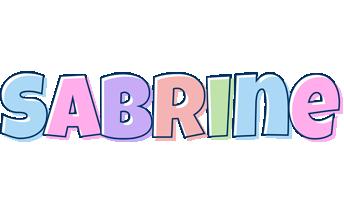 Sabrine pastel logo