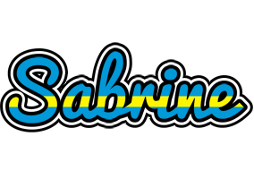 Sabrine sweden logo