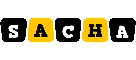 Sacha boots logo