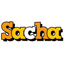 Sacha cartoon logo