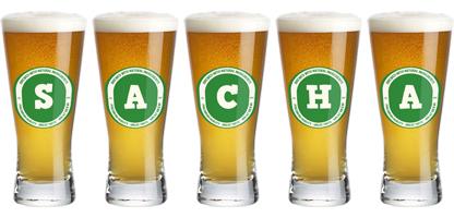 Sacha lager logo