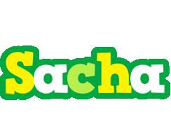 Sacha soccer logo