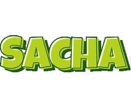 Sacha summer logo