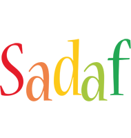 Sadaf birthday logo