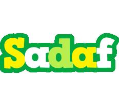 Sadaf soccer logo