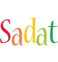 Sadat birthday logo
