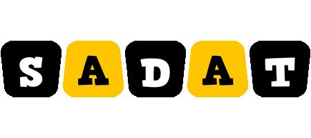 Sadat boots logo