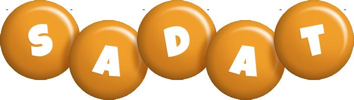 Sadat candy-orange logo