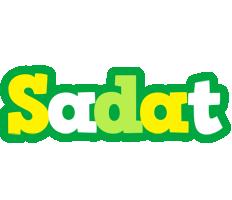 Sadat soccer logo