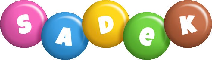 Sadek candy logo
