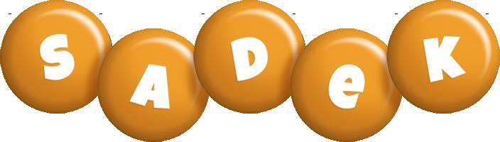 Sadek candy-orange logo
