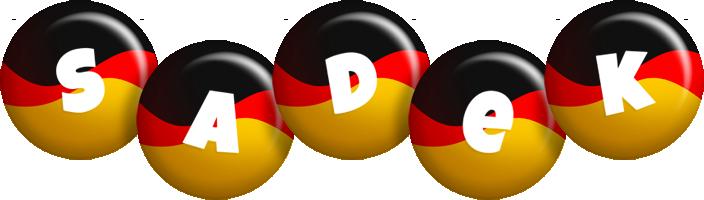 Sadek german logo