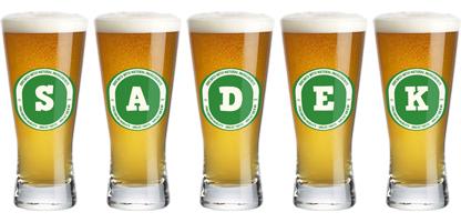 Sadek lager logo
