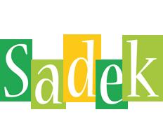 Sadek lemonade logo