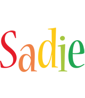 Sadie birthday logo