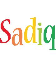 Sadiq birthday logo