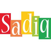 Sadiq colors logo