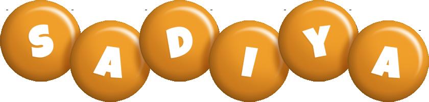 Sadiya candy-orange logo