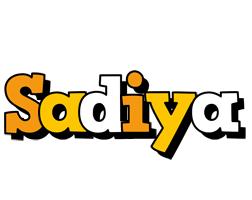 Sadiya cartoon logo