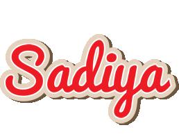 Sadiya chocolate logo