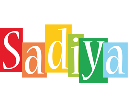 Sadiya colors logo