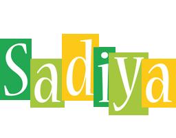Sadiya lemonade logo