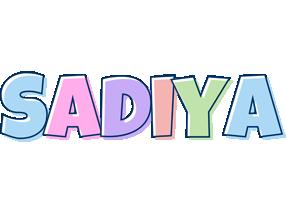 Sadiya pastel logo