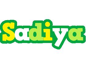Sadiya soccer logo