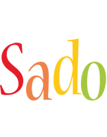 Sado birthday logo