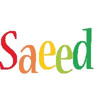 Saeed birthday logo