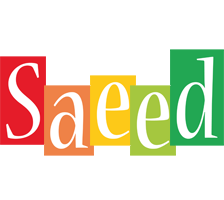 Saeed colors logo