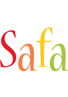 Safa birthday logo