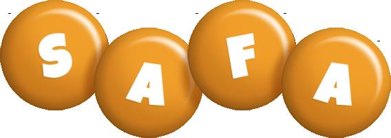 Safa candy-orange logo