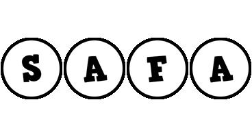 Safa handy logo
